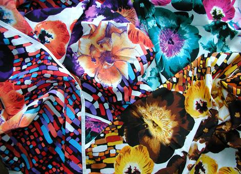 foulards imprimés